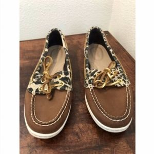 Sperry Top-Sider Animal Leather Shoes 9M